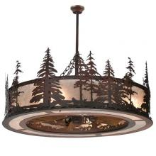 "Meyda Tiffany 108302 - 44""W Tall Pines Chandel-Air"