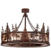 "Meyda Tiffany 109974 - 45""W Tall Pines Chandel-Air"