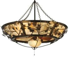 "Meyda Tiffany 110043 - 50""W Oak Branch Chandel-Air"