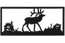 "Meyda Tiffany 162075 - 18""W Lone Elk Wall Art"