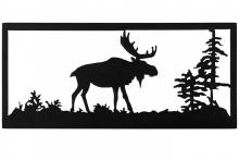 "Meyda Tiffany 162076 - 18""W Lone Moose Wall Art"