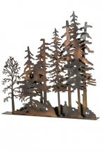 "Meyda Tiffany 173325 - 31""L X 30""H Tall Pines Window Art"