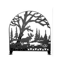 "Meyda Tiffany 23365 - 30""W X 30""H Moose Creek Arched Fireplace Screen"
