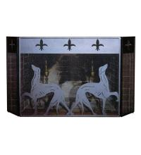 "Meyda Tiffany 29440 - 50""W X 30""H Greyhound Fireplace Screen"
