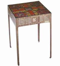 "Meyda Tiffany 32482 - 17""W X 26.5""H Parcheesi Table"